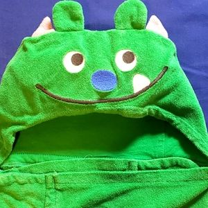 Toddlers Dragon Hooded Towel